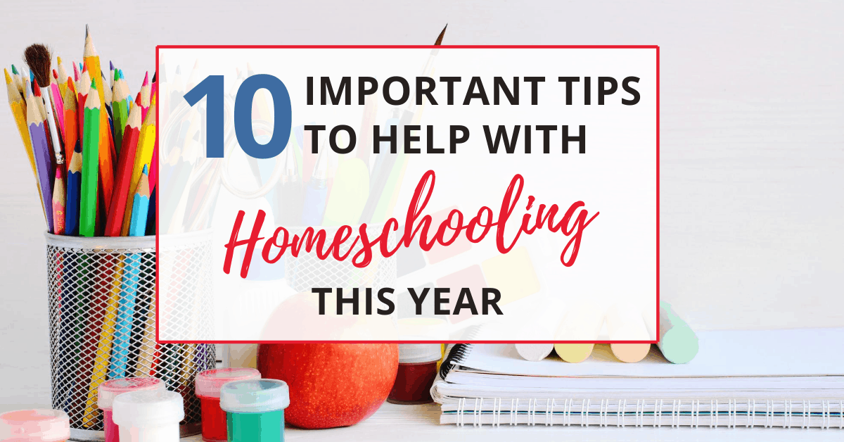 10 secrets to help with homeschooling this year