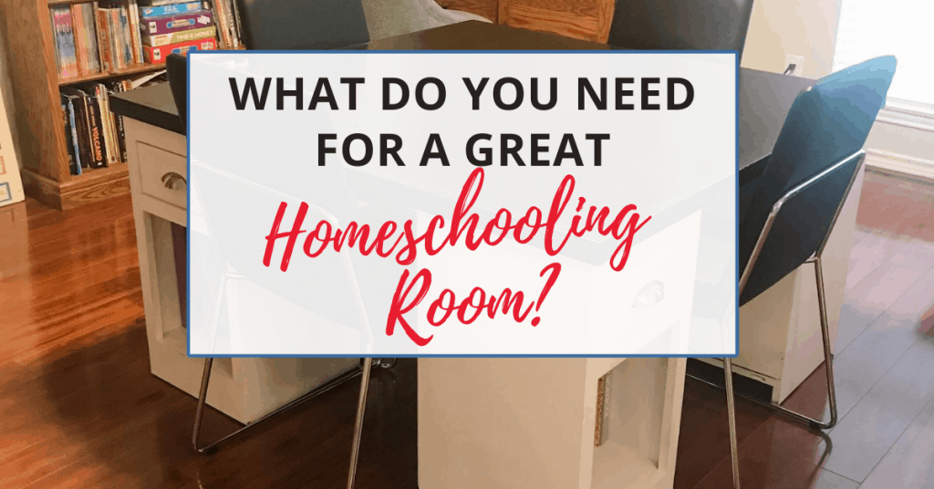 you can create a great homeschooling room