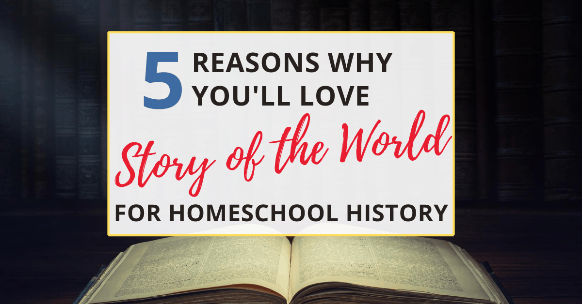 the story of the world is a great homeschool history curriculum