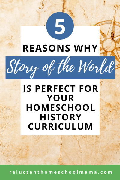 Story of the World is our favorite homeschool history curriculum