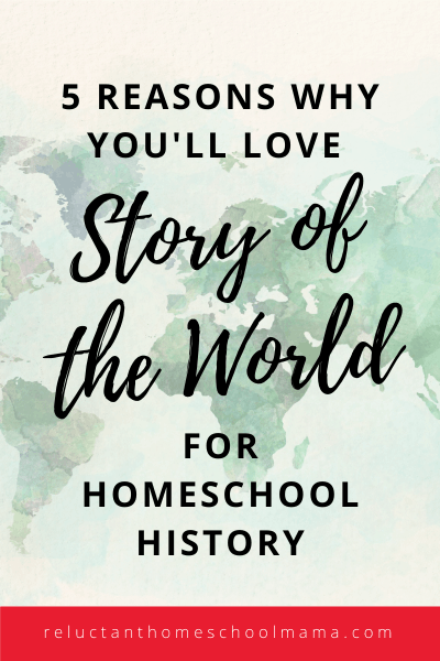 story of the world is a great homeschool history curriculum because it is fun