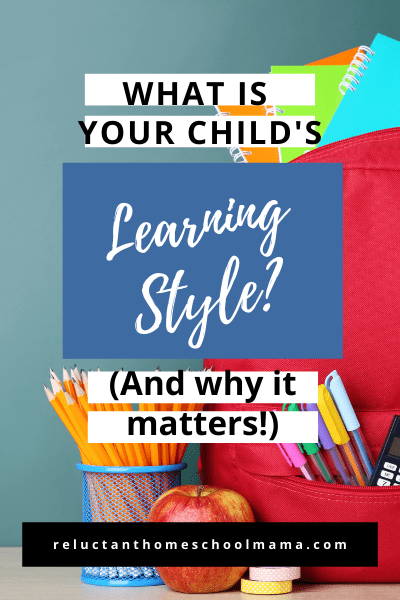 learn how to identify your childs learning style