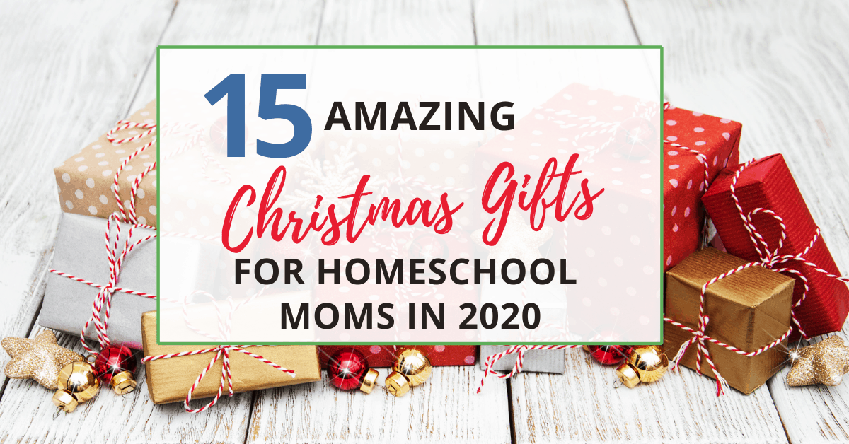 christmas gifts for homeschool moms