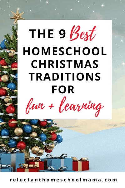 homeschool Christmas traditions for kids