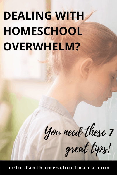 how to deal with homeschool burnout