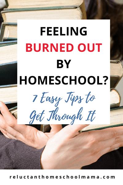 getting over homeschool burnout