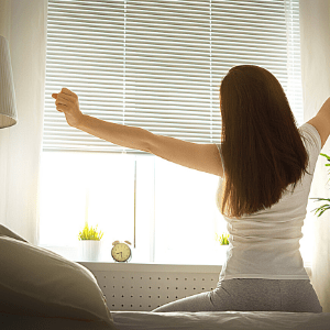 waking up early helps work from home and homeschool moms