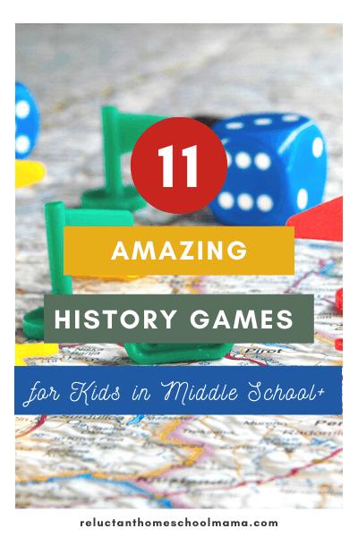 history games for homeschool