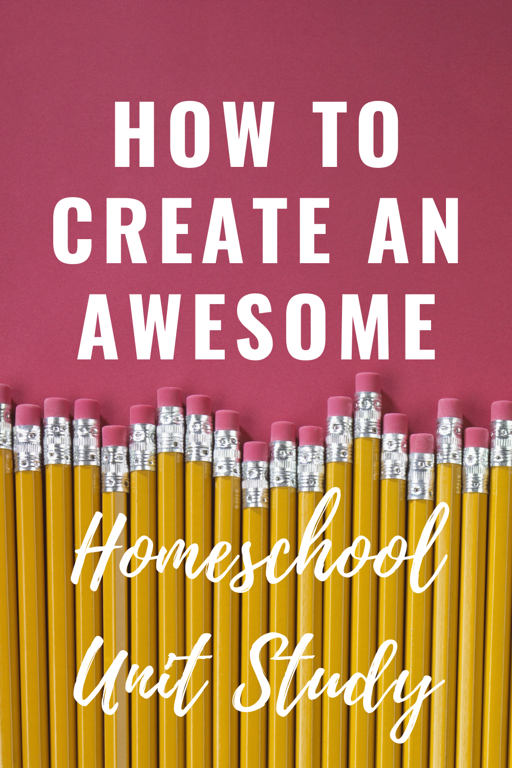 How to Create an Amazing Homeschool Unit Study in 5 Simple Steps