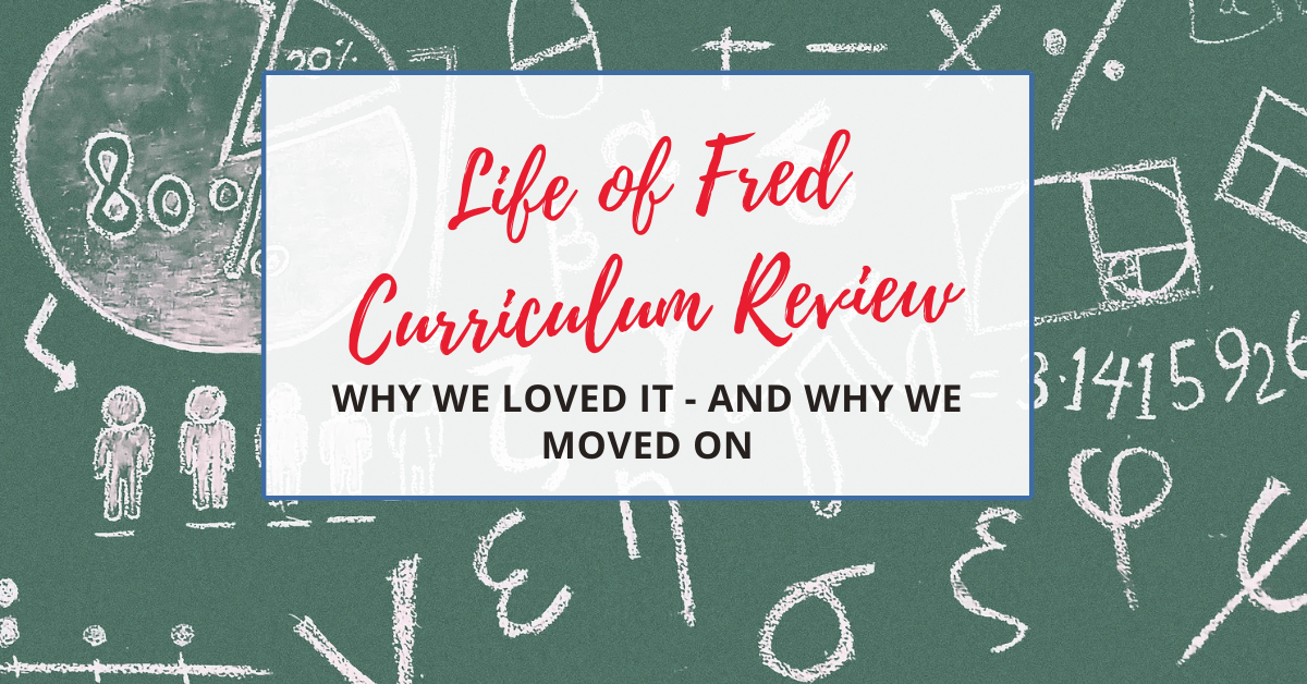 life of fred math curriculum review