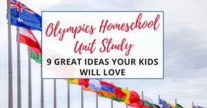olympics homeschool unit study