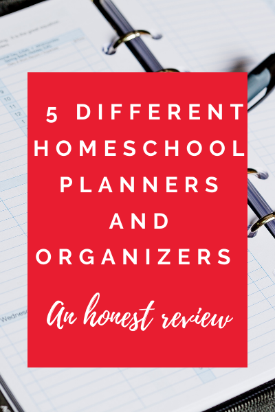 homeschool paper planners review