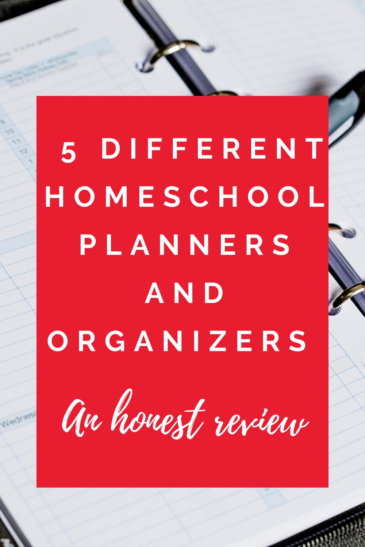 The 5 Best Homeschool Paper Planners to Organize Your Homeschool