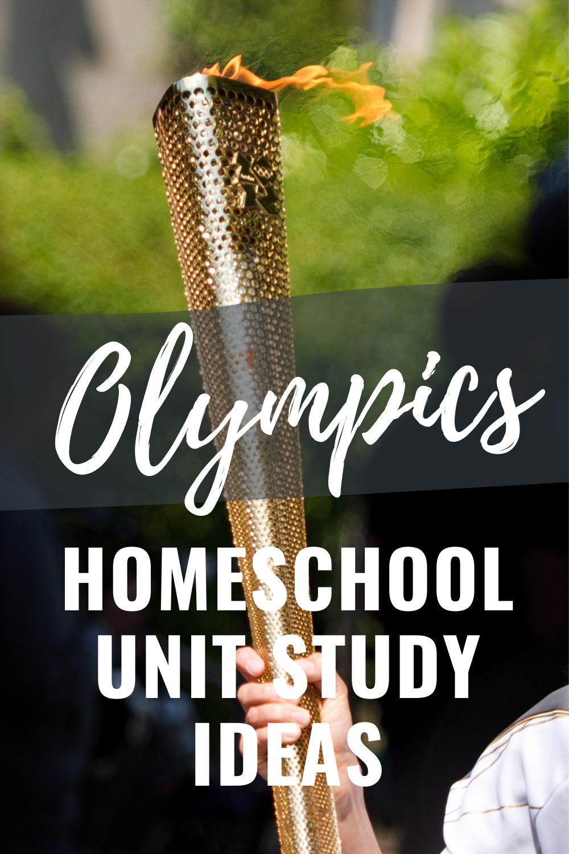 Olympics Homeschool Unit Study - 9 Great Ideas Your Kids Will Love