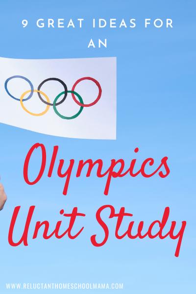 homeschool unit study ideas for the olympics