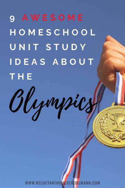 olympics homeschool unit study ideas