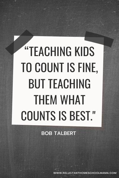 teaching kids homeschool quote