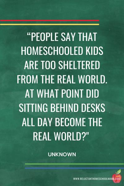 inspiring homeschool quote