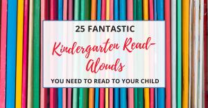 read aloud books for kindergarten